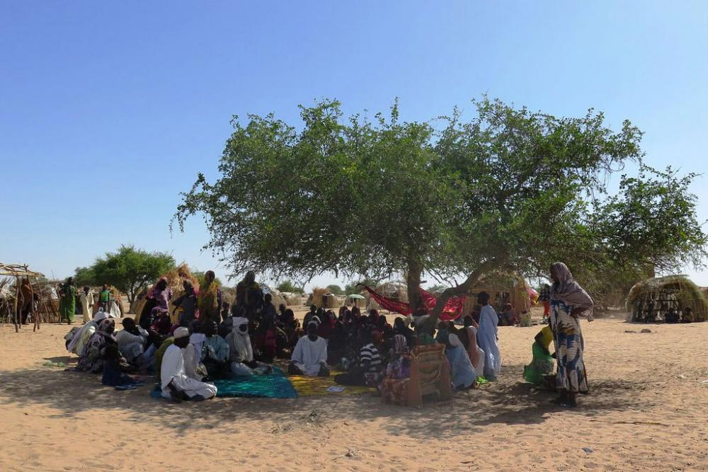 Internally displaced persons find refuge in Baga Sola, Chad. Photo: OCHA/ Mayanne Munan