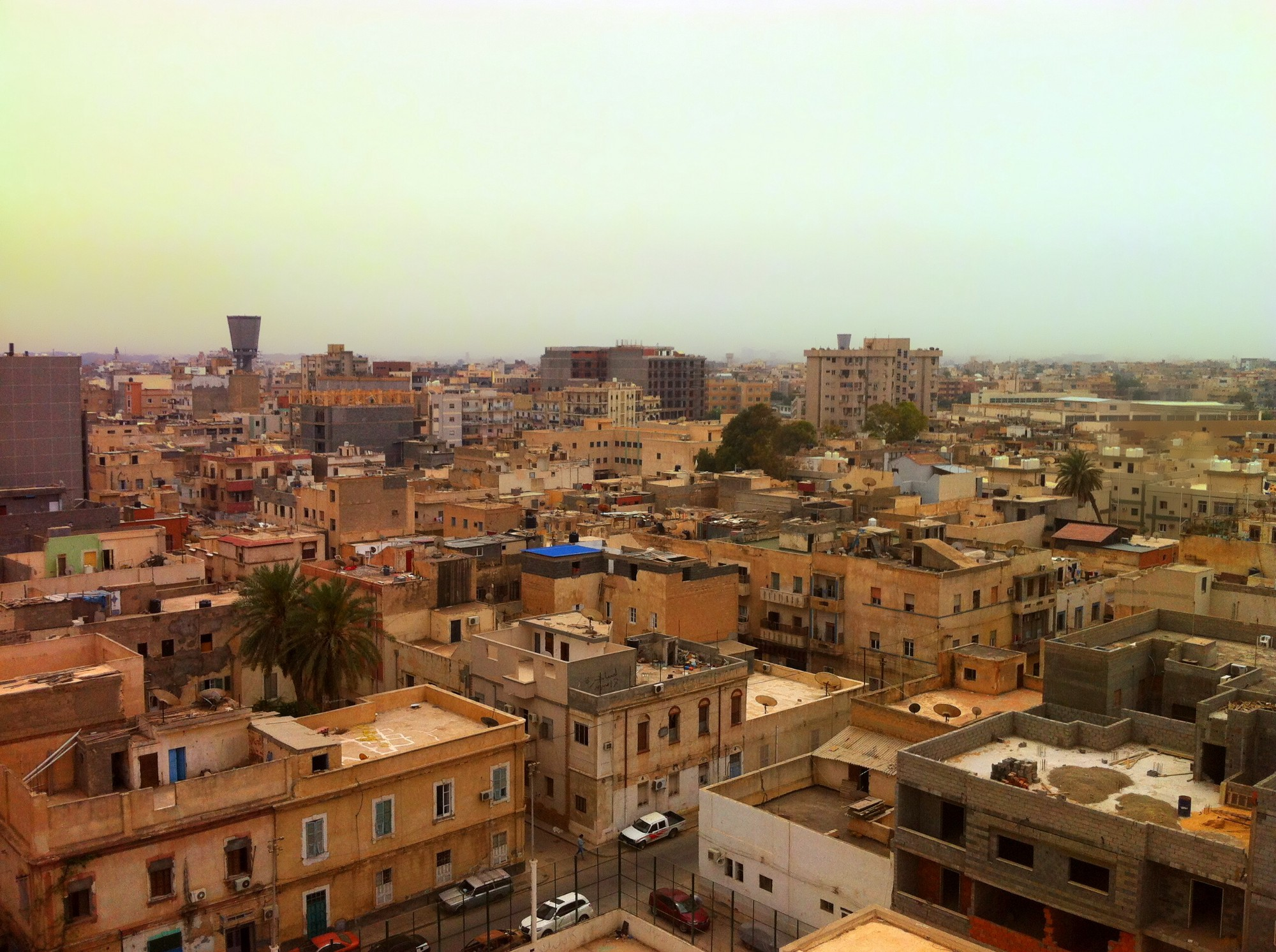 The call centre, based in Tripoli, receives thousands of calls from people across Libya. Photo: Shutterstock/ TheRunomon