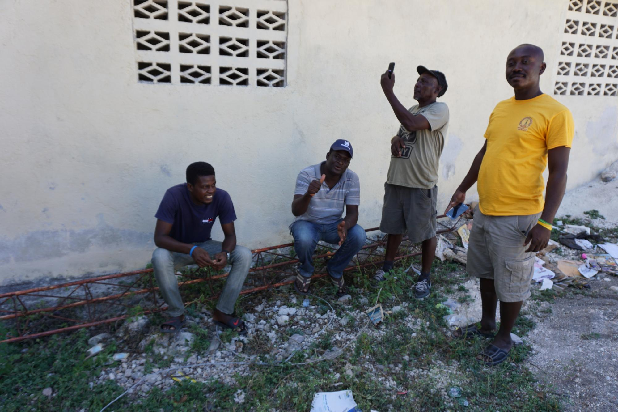 This project will allow the community in the most-affected parts of Haiti to access information on the response through a medium that they are familiar with, community radio. Photo: WFP  / Christopher Alagna
