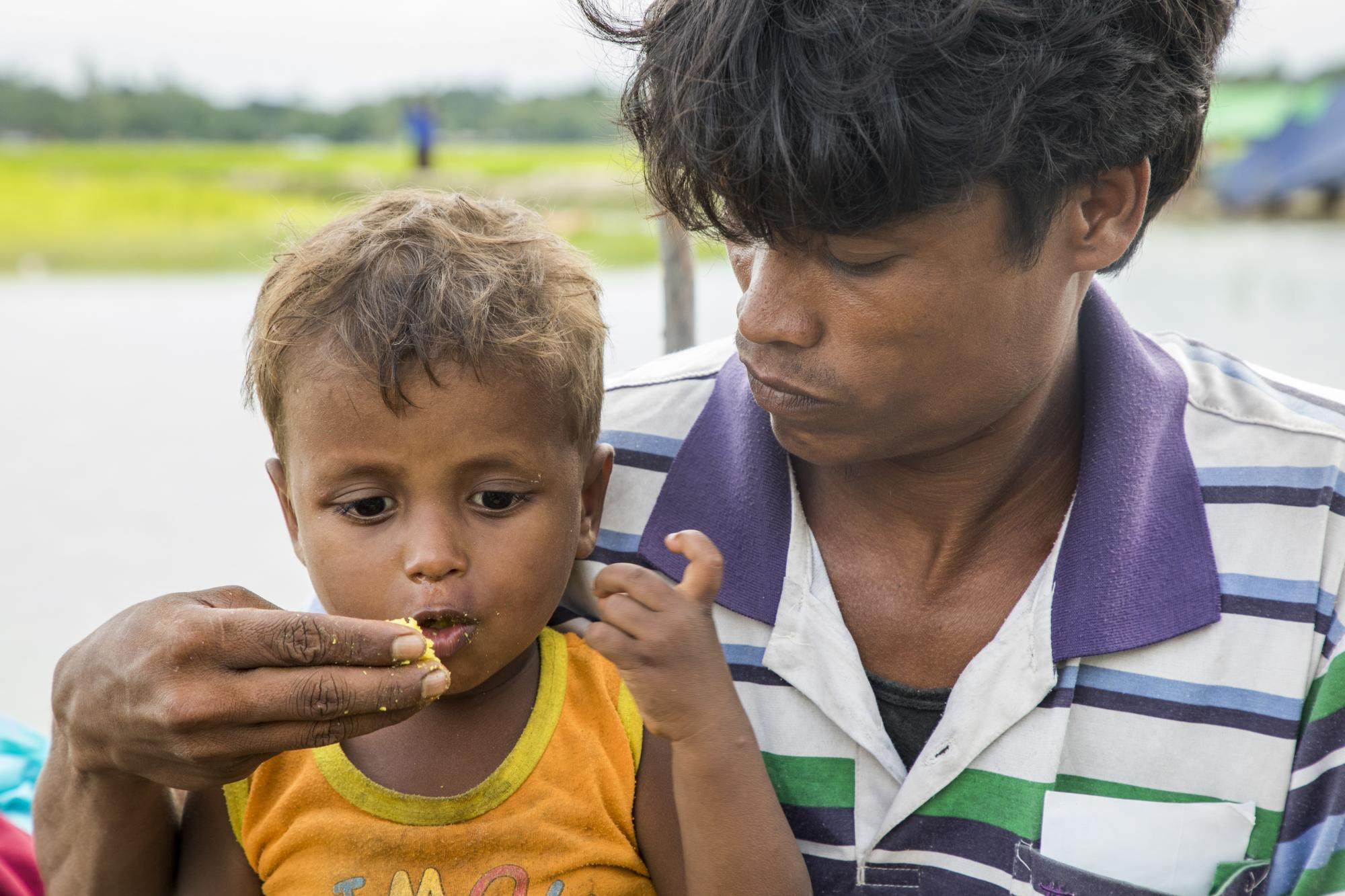 Various humanitarian organisations are providing life-saving aid, including food, shelter, and health assistance, among many. Photo: WFP / Saikat Mojumde