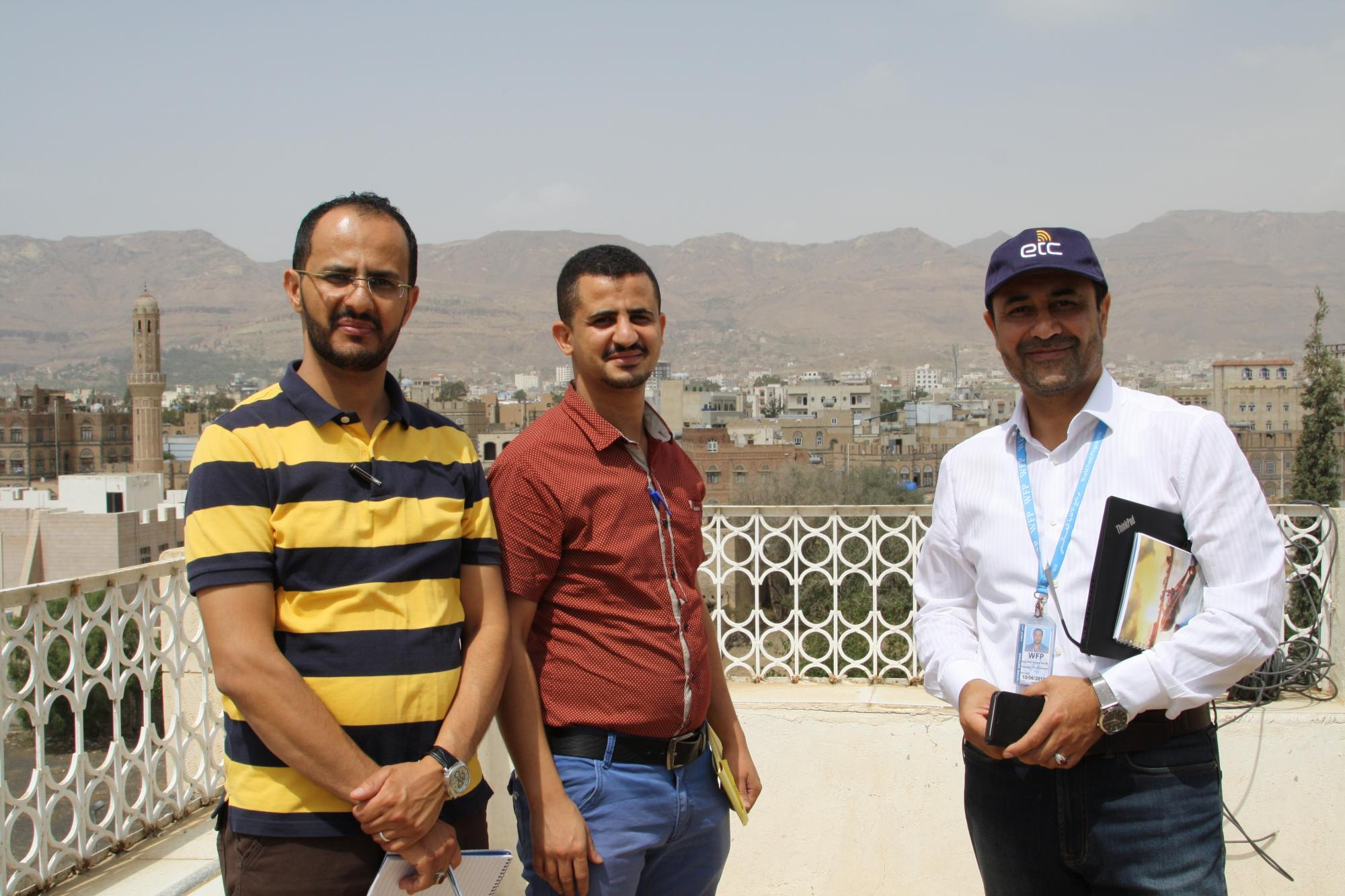 Visit to the ETC NGO hub in Sana'a, hosted by ACF