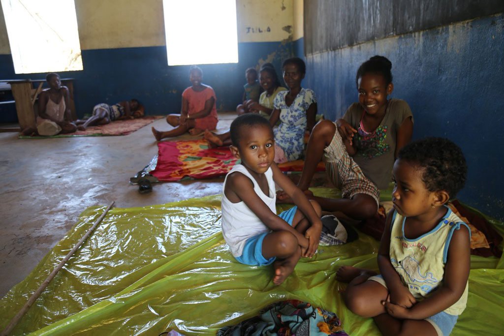 This cyclone, with heavy rains and winds reaching up to 300km/h affected 176.000 people, out of which 65.000 were forced to leave their homes. Photo: UNICEF Madagascar