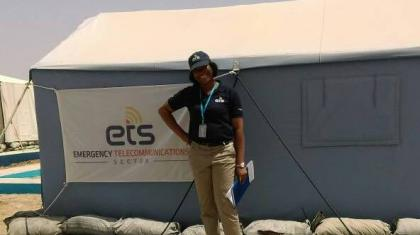 Esther Attah, ETS Business Support Assistant in Nigeria