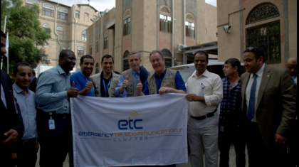 WFP ED visiting EOC in Sana'a