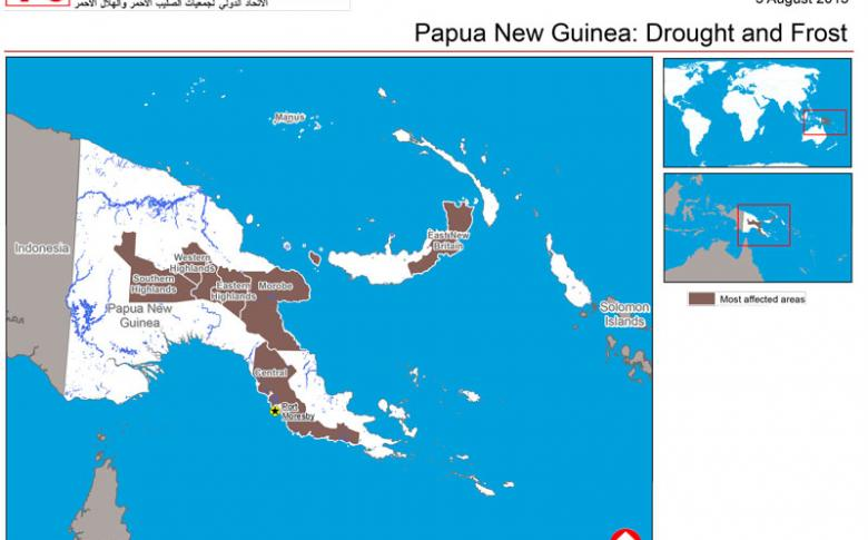 Drought in Papua New Guinea   Emergency Telecommunications